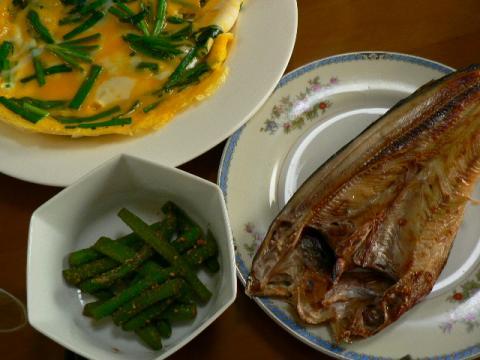 2008年6月4日夕食
