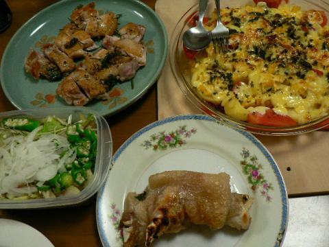 2008年8月8日夕食