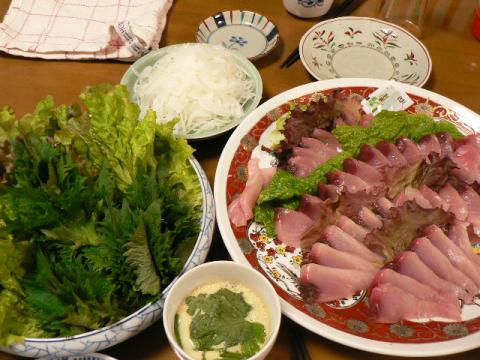 2008年4月8日夕食