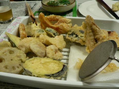 2008年5月9日夕食