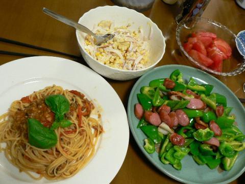 2008年6月11日夕食