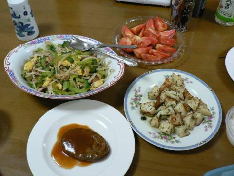 2008年7月16日夕食