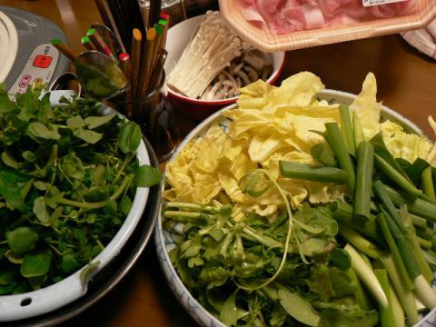 2008年4月19日夕食