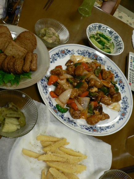 2008年6月23日夕食