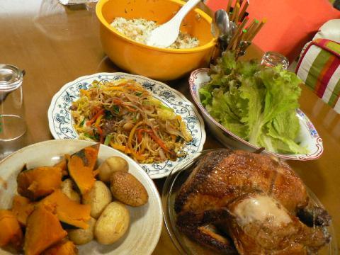 2008年4月26日夕食
