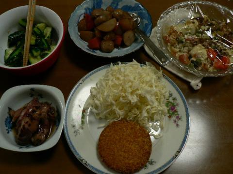 2008年6月30日夕食
