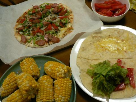 2008年5月30日夕食