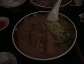 味噌とんかつラーメン