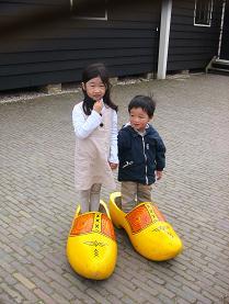 大きな木靴