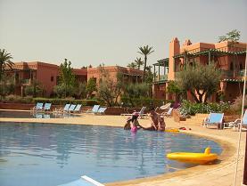 モロッコのプール