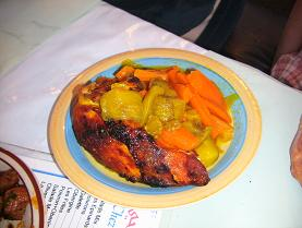 鶏肉のタジン