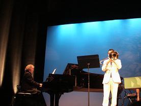 音楽学校の先生のコンサート