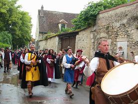 中世の音楽家