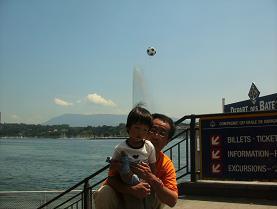 ジュネーブの大噴水