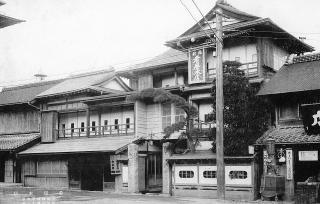 戦前の肴屋本店外観