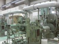 中央排水機場のポンプ