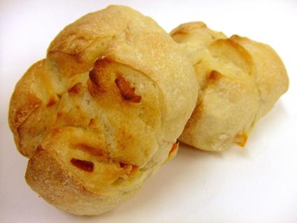 テイクアウトしたパン