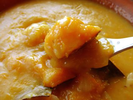 野菜スープ(波菜)アップ