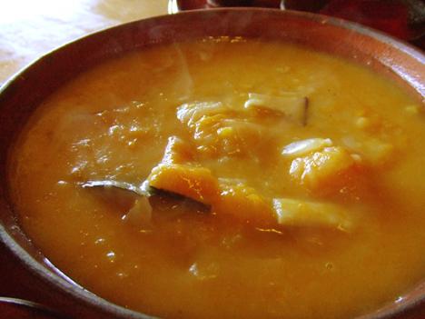 野菜スープ(波菜定食)