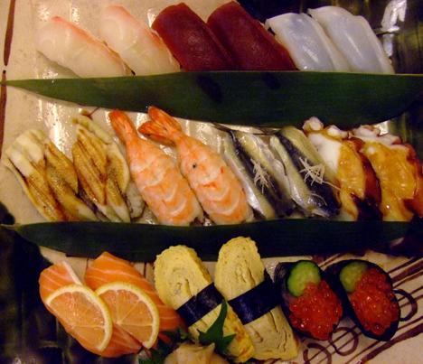 寿司盛り合わせ20カン