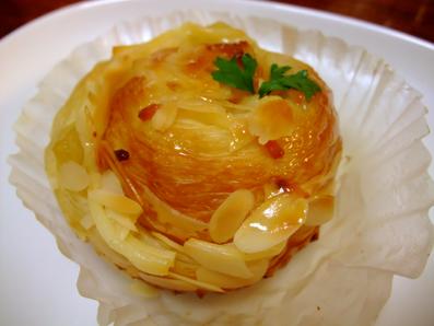 りんごクリームチーズ