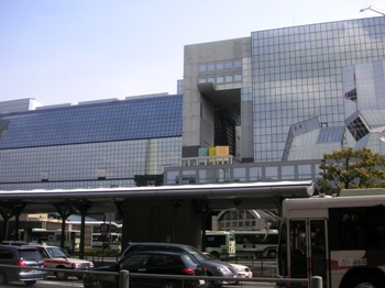 京都駅前景