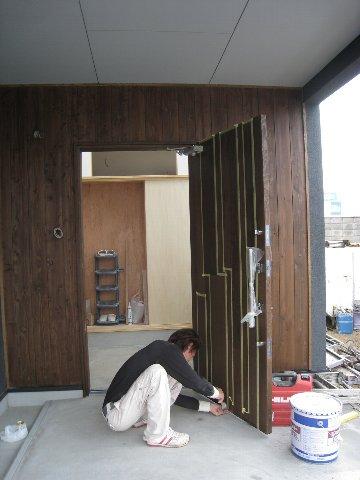 N-House塗装工事