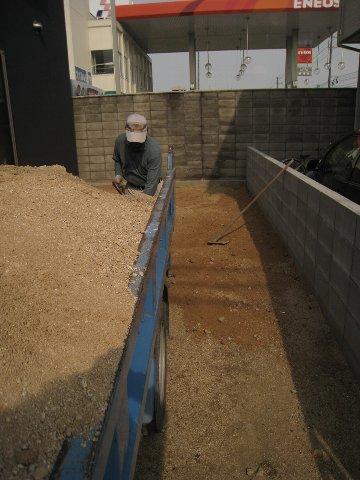 真砂土敷き
