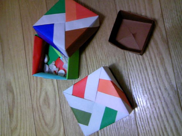 簡単 折り紙 折り紙 箱 ユニット 折り方 : malmelon.blog17.fc2.com