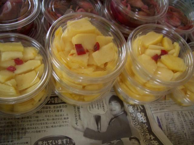 ソーメン瓜のお漬物