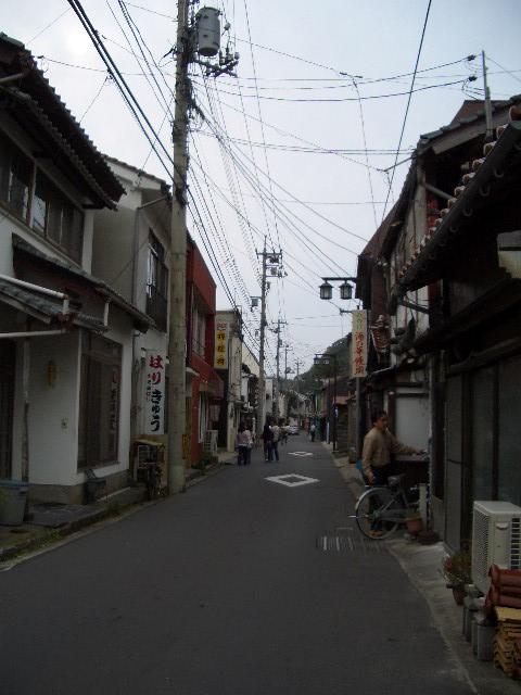 温泉津の町