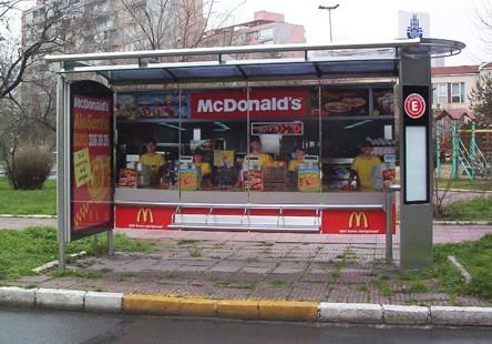 McDonald's Bus Stop