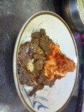 牛肉キムチ丼~!