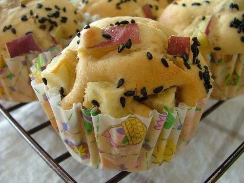 さつま芋のマフィン