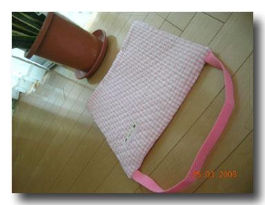 防災頭巾のカバー