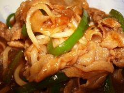 豚肉と野菜の焼肉ダレ炒め