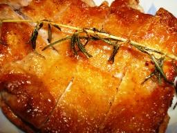 鶏のカリカリソテー ローズマリー風味
