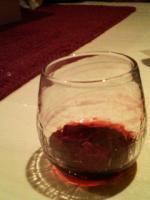マイグラスにワイン!