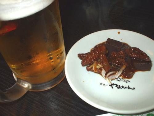 どて&ビール