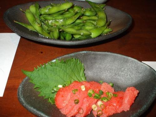 枝豆&明太子