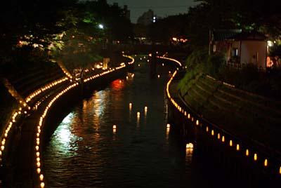 地蔵祭 いたち川