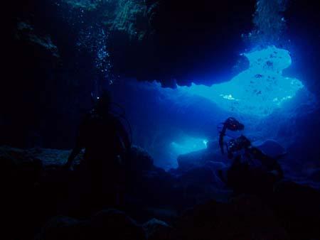 tinian grotto