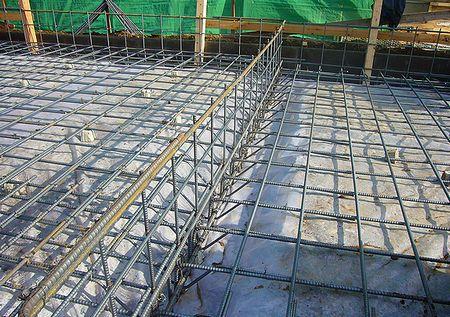 基礎工事 配筋 耐圧板