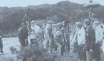 東海道ネットワークの会が植樹