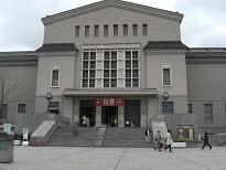 大阪市立美術館・正面