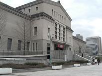 大阪市立美術館・側面