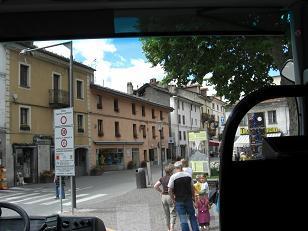 イタリア北部の一般道