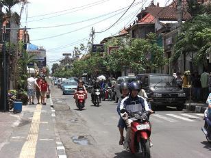 インドネシア・バリ島の道