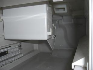 製氷機の収容