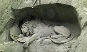 嘆きのライオン